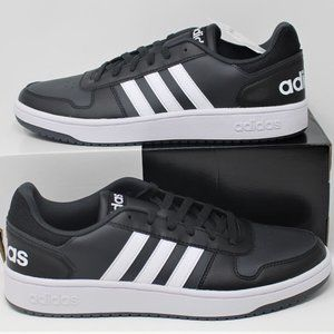 New pair of Adidas Hoops 2.0 Basketball Sneakers
